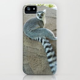 Julien of the Lemur iPhone Case