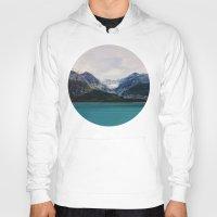 alaska Hoodies featuring Alaska Wilderness by Leah Flores