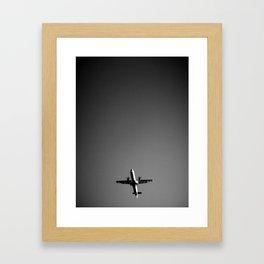 BlackWhite Framed Art Print