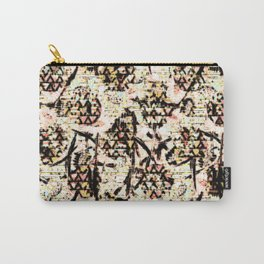 Daisy Brown Carry-All Pouch