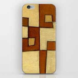 Protoglifo 01 'brown yell' iPhone Skin