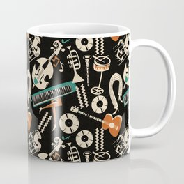 Jazz Rhythm (negative) Coffee Mug