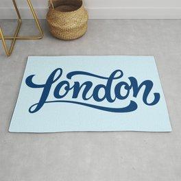 London Font Rug