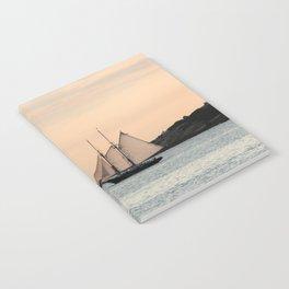Sunset Sail Notebook