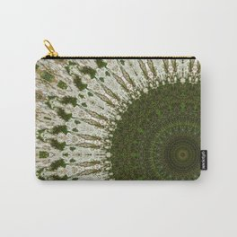 Tree Trunk white Carry-All Pouch