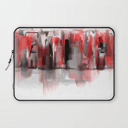 We Painted the Town in Red Laptop Sleeve