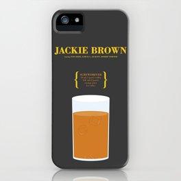 JACKIE BROWN _MOVIE COCKTAIL_Tarantino  iPhone Case