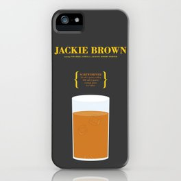 JACKIE BROWN _MOVIE COCKTAIL_Tarantino  iPhone Case