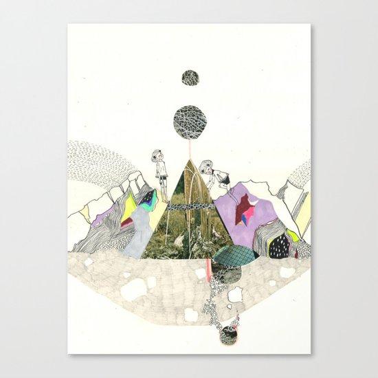 Climbers - Cool Kids Climb Mountains Canvas Print