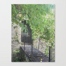 Secret Castle Gateway Canvas Print