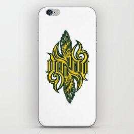 Angel 3K ambigram iPhone Skin