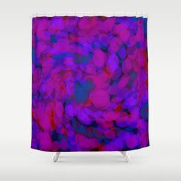 ovoid dynamics Shower Curtain
