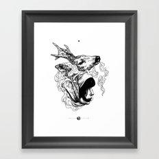 Nyama Framed Art Print