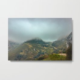 Peaks of Europe Metal Print