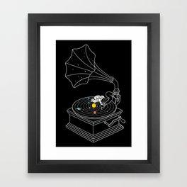 Star Track Framed Art Print