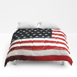 USA Flag ~ American Flag ~ Ginkelmier Inspired Comforters