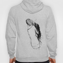 Girl Walking Hoody