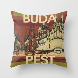 BUDA & PEST Throw Pillow
