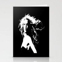 britney Stationery Cards featuring Pretty Britney by Dora Birgis