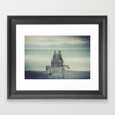 Tranquil Blues Framed Art Print