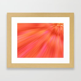 Sorbet Framed Art Print