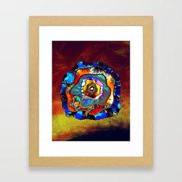 small slice Framed Art Print