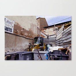 Barcelona Museum Canvas Print