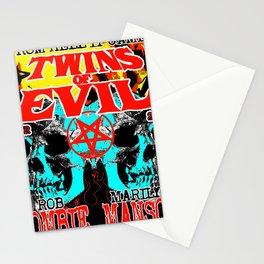 TWINS OF EVIL TOUR DATES 2019 KURA KURA Stationery Cards