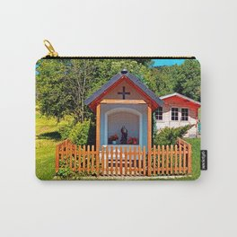 A chapel besides the garden Carry-All Pouch