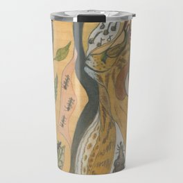 The Exposition, or Woman Conducts Singing Cat Travel Mug