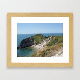 Durdle Door, Dorset, Photo 2 Framed Art Print
