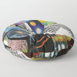 Collage 6 Floor Pillow