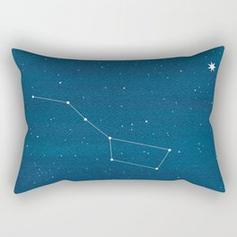 Big Dipper constellation Rectangular Pillow