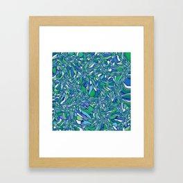 Trippy-Oceania colorway Framed Art Print