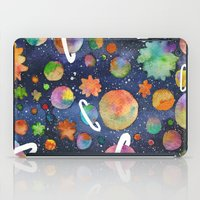 planet iPad Cases featuring Planet by Michaella Fonseca