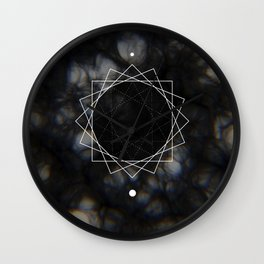 Sun Delay Geometry Wall Clock
