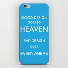 Good Design iPhone & iPod Skin
