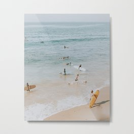 lets surf iii Metal Print