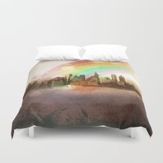 NYC Sky Duvet Cover