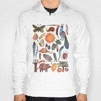 tropical Hoodies featuring Tropical by VLAD stankovic