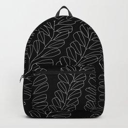 white ink 01 Backpack