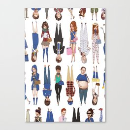 Hey Hey We're the Archetypes! Canvas Print