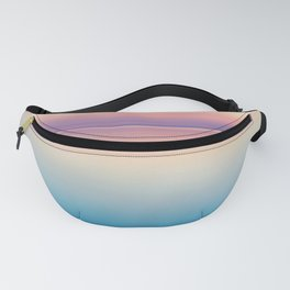 Pastel Sunset Sea Fanny Pack