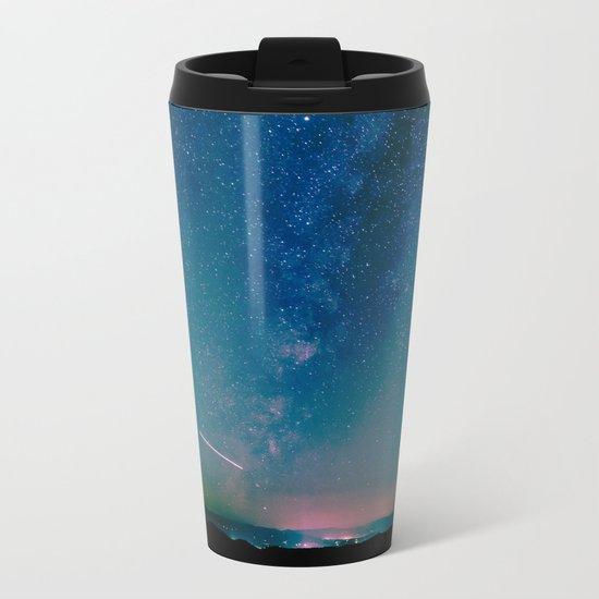 Desert Summer Milky Way Metal Travel Mug