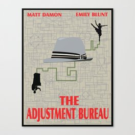 The Adjustment Bureau Canvas Print