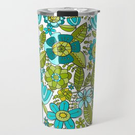 Botanical Doodles Travel Mug