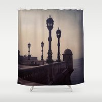 guardians Shower Curtains featuring Guardians by Out of Line