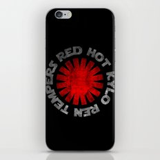 Red Hot Kylo Ren Tempers iPhone & iPod Skin