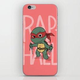 TMNT: Raphael (Cute & Dangerous) iPhone Skin