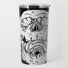 Asteroid skull Travel Mug